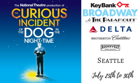 Seattle Paramount: The Curious Incident of the Dog in the Night-Time @stgpresents