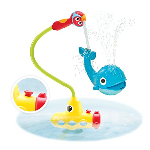 Yookidoo Submarine Spray Station: Makes Bath Time Fun! #Yookidoo #Bathtoys #Funinthetub #ad
