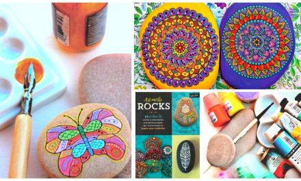 Art on the Rocks – 35 Rock-Painting Project, Tips & Techniques