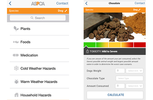 Get the FREE ASPCA Animal Poison Control Center App