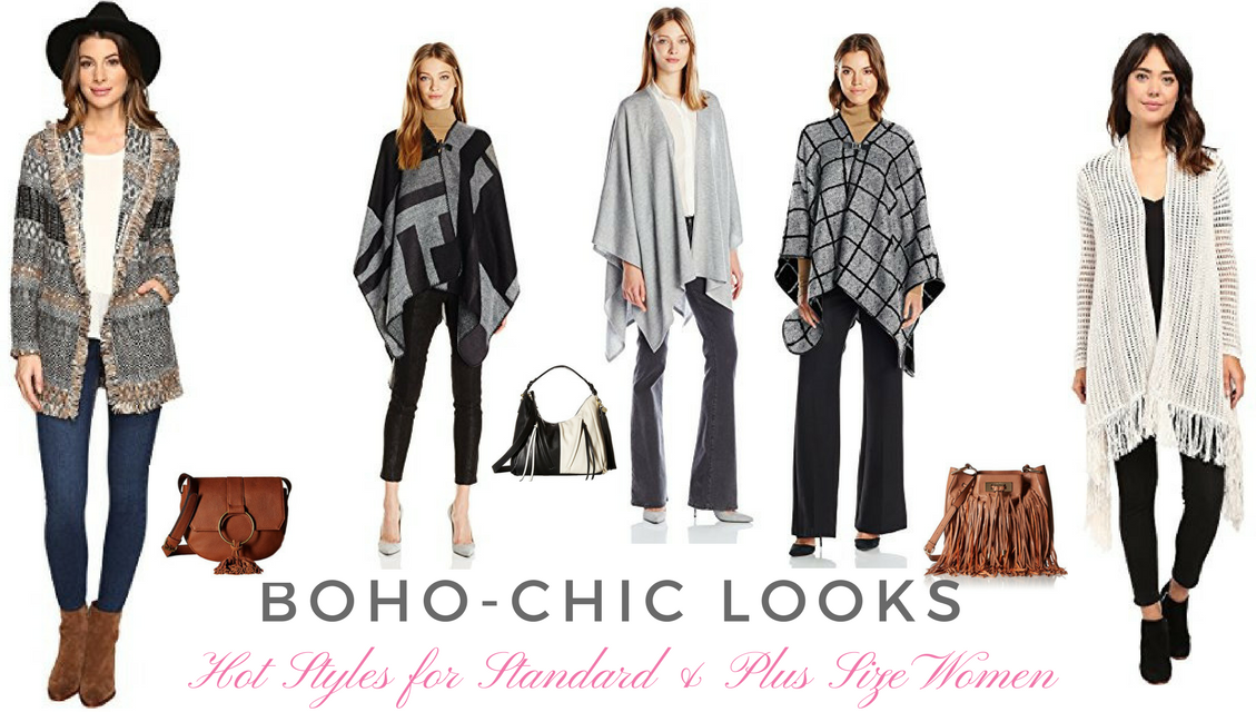 Fabulous Boho-Chic Fall Fashions for Standard and Plus Size Women