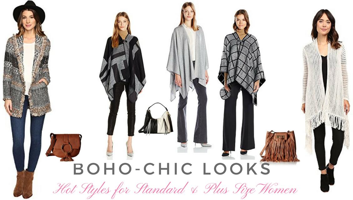Fabulous Boho-Chic Fall Fashions for Standard and Plus Size Women