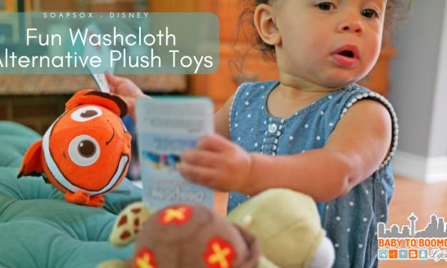 Disney SoapSox: A Fun 2-in-1 Washcloth Alternative