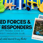 Marriott Vacation Club Discount for Armed Forces and First Responders