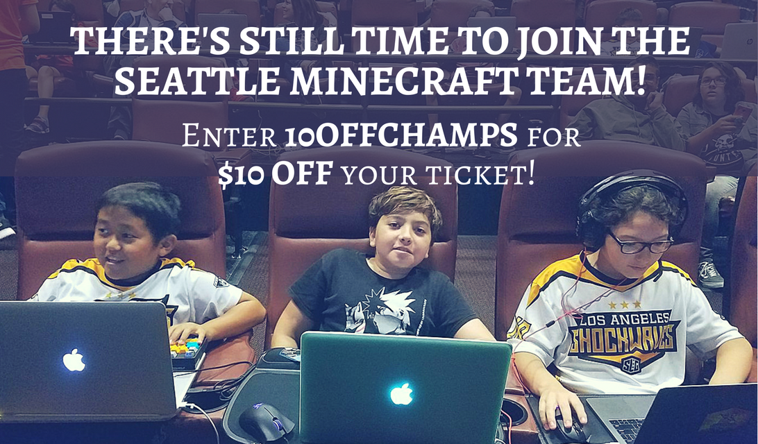 Minecraft Super League Play Seattle - Sign up NOW Plus Discount Code #ad