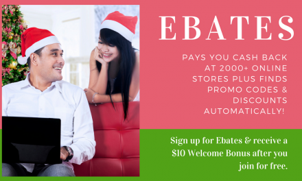 Ebates Pays You CASH BACK at 2000+ Online Stores PLUS Finds Promo Codes & Discounts Automatically!