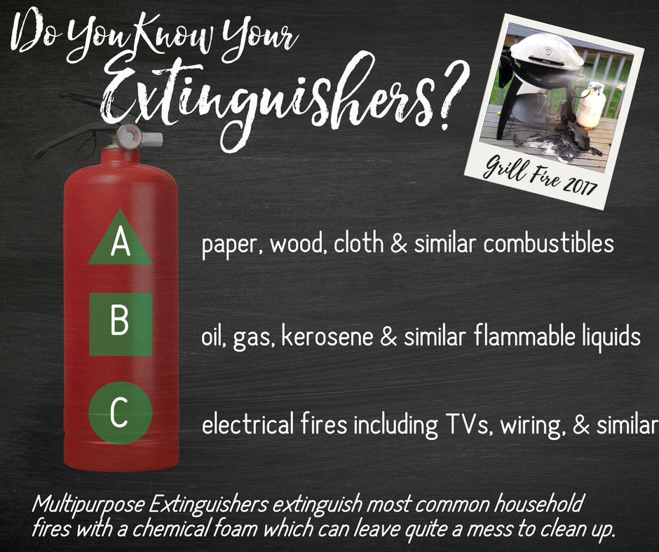 Do You Know Your Extinguishers? Learn What it Takes to Be The Super Prepared Family #homesafety #firepreventionmonth #ad