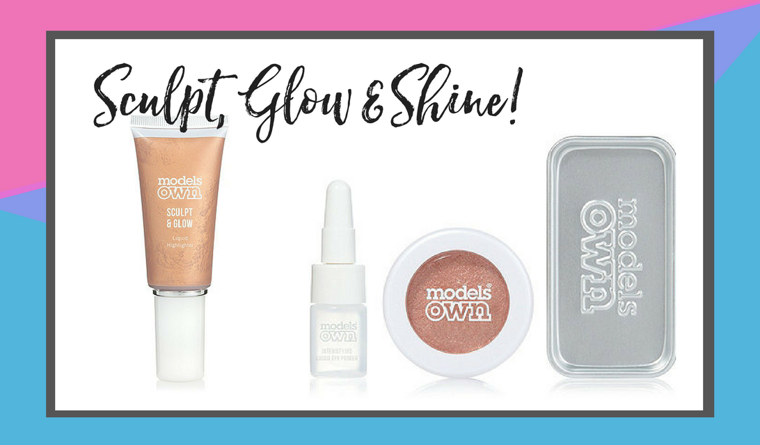 MODELS OWN Colour Chrome Eyeshadow Kit & Sculpt and Glow #giftguide #holidaygiftguide