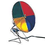 Kurt Adler Early years Revolving Color Wheel Red/Blue/Green/Yellow