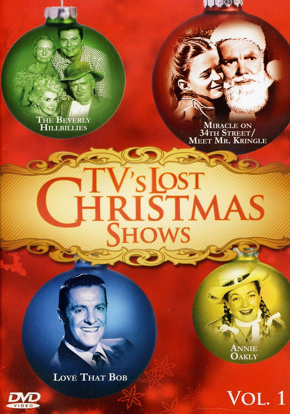 TV's Lost Christmas Shows contains some of the greatest TV Christmas shows produced during the 1950's and 1960's. Nostalgic shows such as The Beverly Hillbillies, Ozzie and Harriet, Love That Bob, and many more bringing holiday cheer, Christmas miracles and suspense to be treasured for generations.