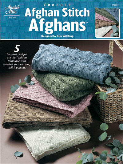 Afghan Stitch Afghans - Tunisian Crochet Patterns