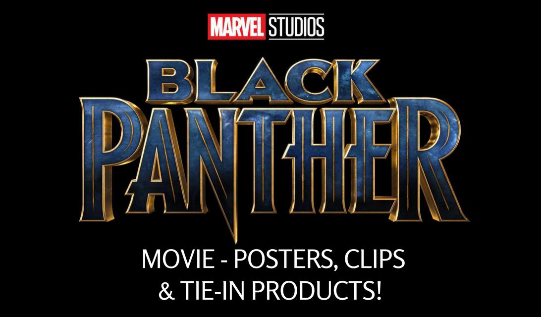 Marvel Movie Posters: Marvel Studios' BLACK PANTHER Movie