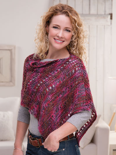 Pretty Tunisian Topper Crochet Pattern