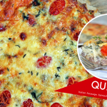 Easy Italian Sausage and Spinach Quiche Recipe