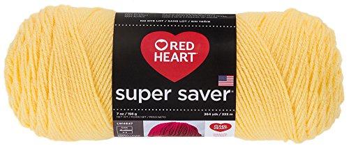 RED HEART Super Saver Yarn - Lemon Yellow 235