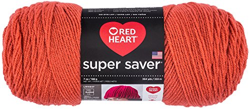 RED HEART Super Saver Yarn - Coral 726