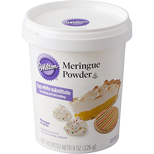 Wilton Meringue Powder, 8 oz Can - egg white substitute for baking and decorating