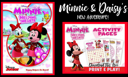 Minnie Mouse: Helping Hearts DVD and Free Valentine's Day Printable Activities