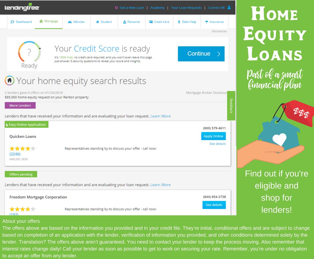 LendingTree Loan Specifics