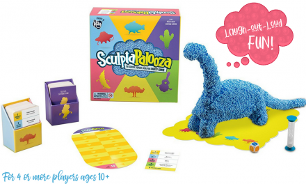 Sculptapalooza – New Family Game Night Fun from Educational Insights