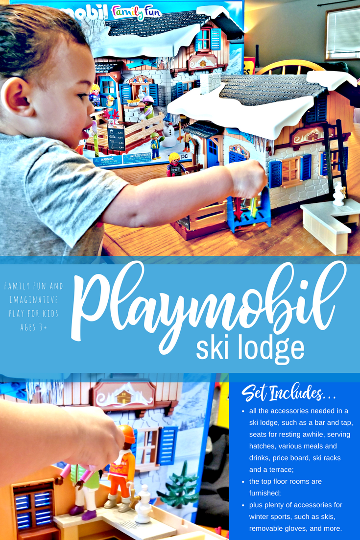 what i love about playmobil playsets are that theyre easy to build clear instructions are included with each set and the pieces are well made - Playmobil Ski