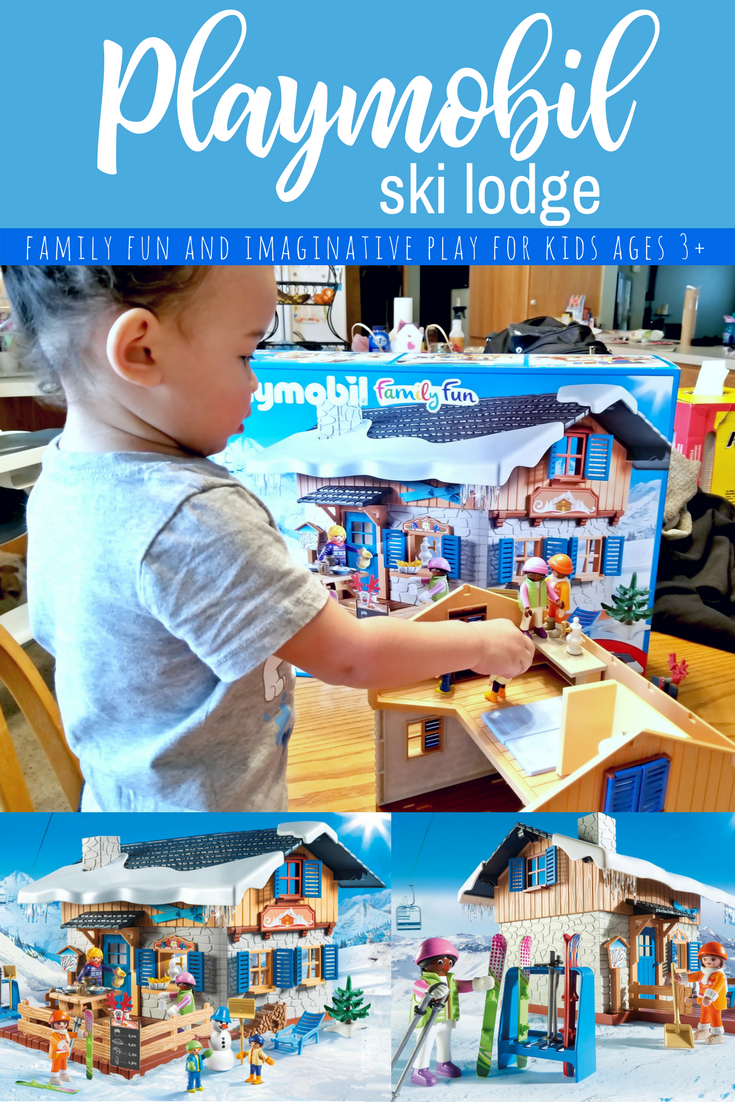 playmobil ski lodge building set - Playmobil Ski