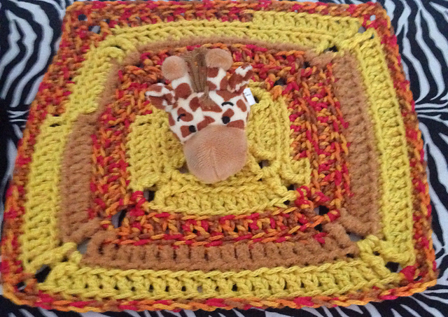 Top This Yarn Giraffe - Free Crochet Pattern #freecrochetpattern Photo Credit: © earties via Ravelry
