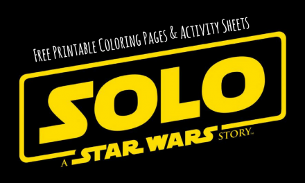 SOLO: A STAR WARS STORY Activity Sheets and Coloring Pages #HanSolo
