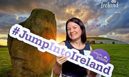 Tourism Ireland encourages UStravelers to visit with 'Jump into Ireland'