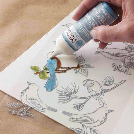 Martha Stewart Crafts Glass Paintable Cling Sheet