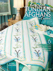 Colorful Tunisian Afghans to Crochet - Electronic Download