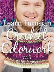 Learn Tunisian Crochet Colorwork