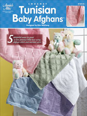 Tunisian Baby Afghans Pattern - Electronic Download