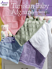 Tunisian Baby Afghans to Crochet - Electronic Download