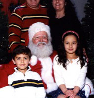 Bellevue Square Santa Billy Joe - Click on his photo to see when he'll be