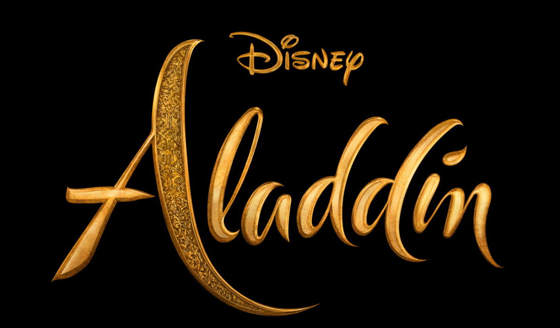 Disney Aladdin Live Action Movie Logo
