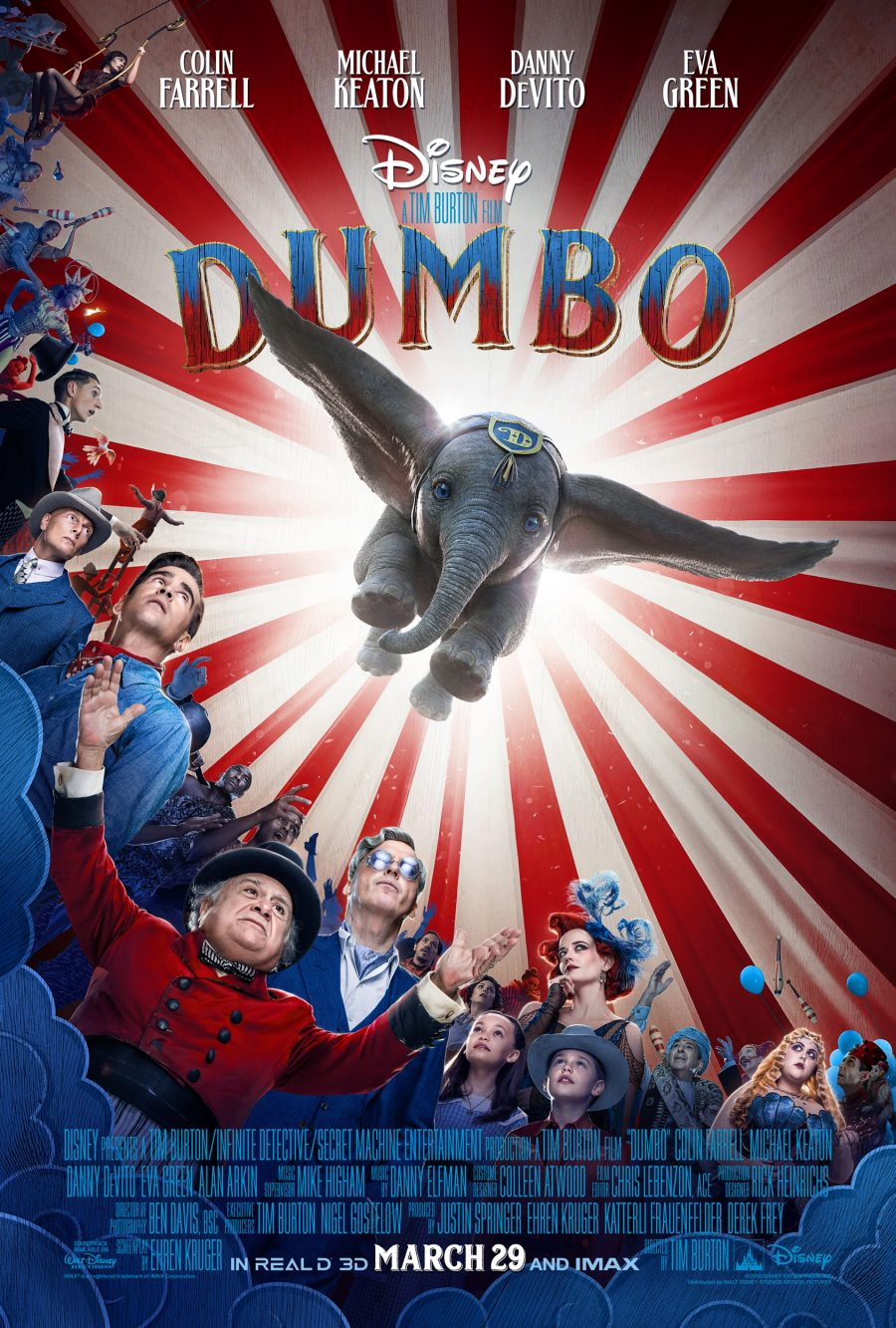 Disney Live Action Dumbo One-sheet Poster