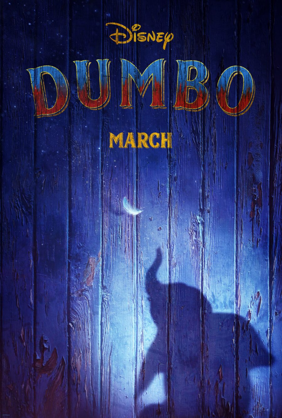 Disney Live Action Dumbo Teaser Poster
