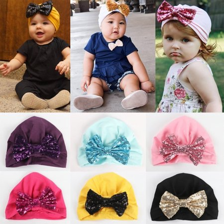 Baby Toddler Girls Boys Infant Warm Winter Knit Beanie Hat Crochet Ski Ball Cap Christmas Gift