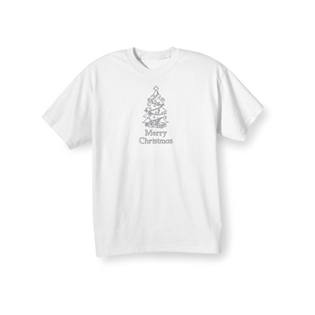 Children's Children's Color Your Own Christmas Tree T-Shirt