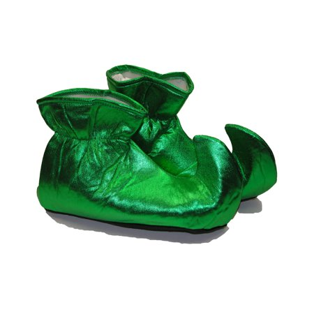 Cloth Green Elf Shoes Adult Accessory