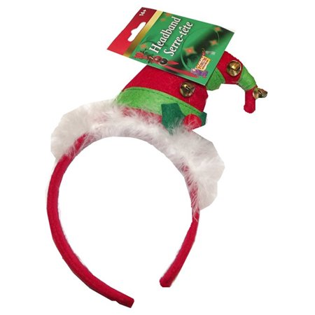 Forum Novelties Christmas Headband - Elf Hat