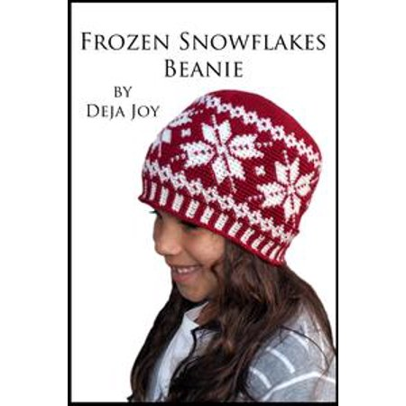 Frozen Snowflakes Beanie - eBook