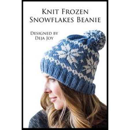Knit Frozen Snowflakes Beanie - eBook