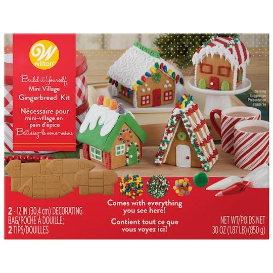Wilton® Build It Yourself Mini Village Gingerbread Kit | Michaels®