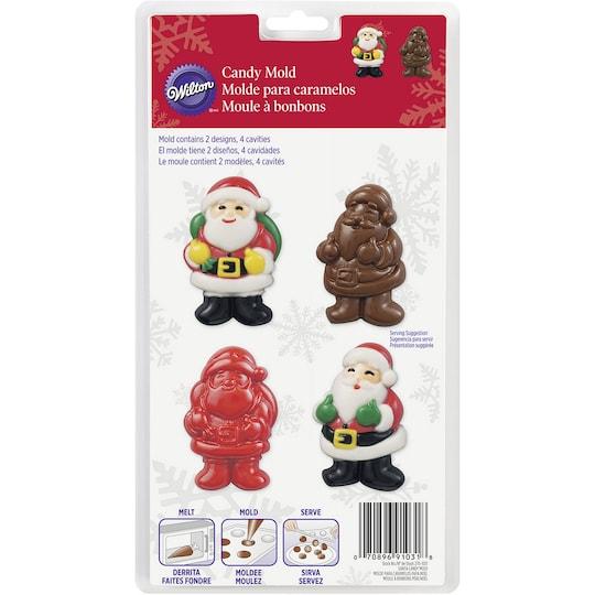 Wilton® Candy Mold, Santa | Michaels®