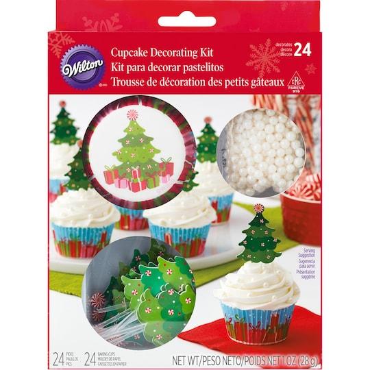 Wilton® Cupcake Decorating Kit, Christmas Tree | Michaels®