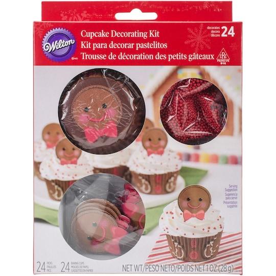 Wilton® Cupcake Decorating Kit, Gingerbread | Michaels®