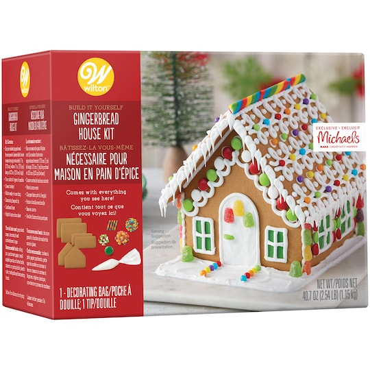 Wilton® Gingerbread Cottage Kit | Michaels®