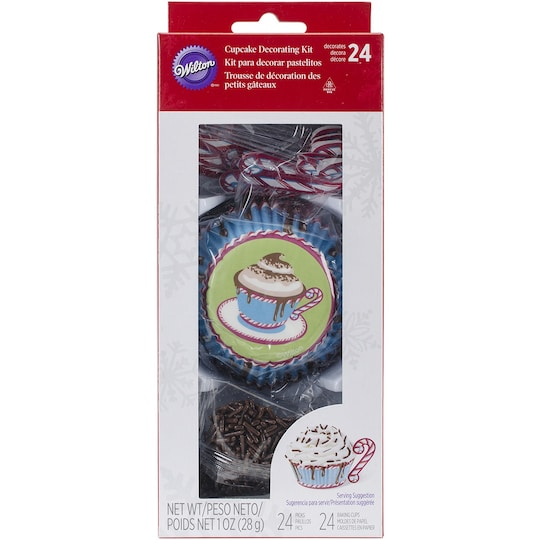 Wilton® Hot Cocoa Cupcake Decorating Kit | Michaels®